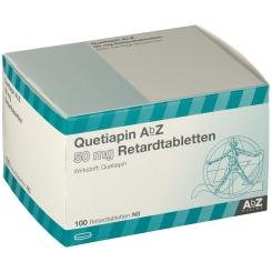 QUETIAPIN AbZ 50 mg Retardtabletten
