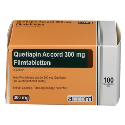 QUETIAPIN Accord 300 mg Filmtabletten