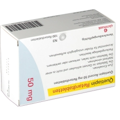 QUETIAPIN Accord 50 mg Retardtabletten