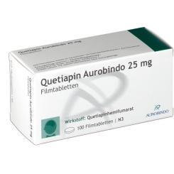 QUETIAPIN Aurobindo 25 mg Filmtabletten
