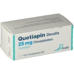 QUETIAPIN DEVATIS 25 MG
