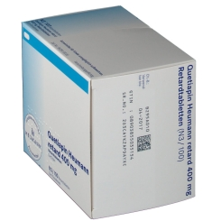 QUETIAPIN Heumann retard 400 mg Retardtabletten