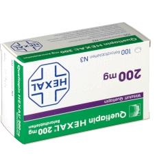 QUETIAPIN HEXAL 200 mg