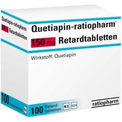 QUETIAPIN ratiopharm 150 mg