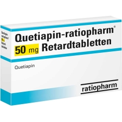 QUETIAPIN ratiopharm 50 mg