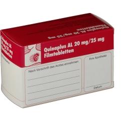 Quinaplus AL 20 mg/25 mg Filmtabletten