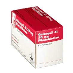 Quinapril Al 20 mg Filmtabl.
