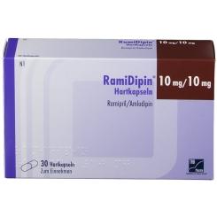 RAMIDIPIN 10 mg/10 mg Hartkapseln