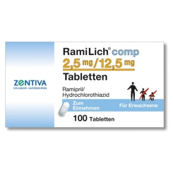 Ramilich comp. 2,5 mg/12,5 mg Tabl.