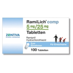 Ramilich comp. 5 mg/25 mg Tabl.