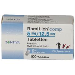 RAMILICH COMP 5MG/12.5MG