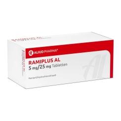 Ramiplus Al 5 mg/25 mg Tabl.