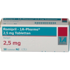 Ramipril 1a Pharma 2,5 mg Tabl.