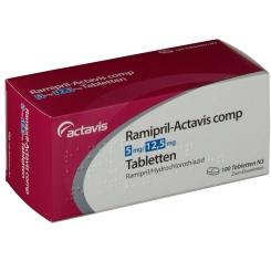 RAMIPRIL Actavis comp 5 mg/12,5 mg
