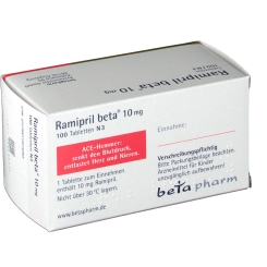 Ramipril beta 10 mg Tabl.