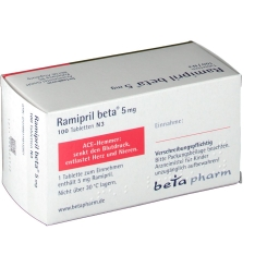 Ramipril beta 5 mg Tabl.