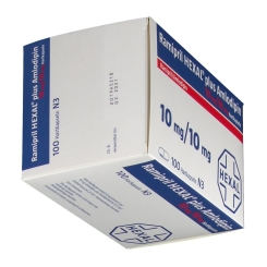 RAMIPRIL HEXAL plus Amlodipin 10 mg/10 mg Hartkaps