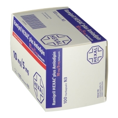RAMIPRIL HEXAL plus Amlodipin 10 mg/5 mg Hartkaps.
