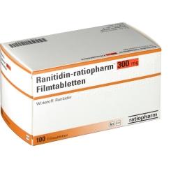 Ranitidin ratiopharm 300 Filmtabletten