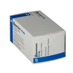 RAPAMUNE 0,5 mg ueberzogene