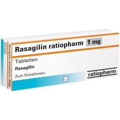 RASAGILIN ratiopharm 1 mg Tabletten