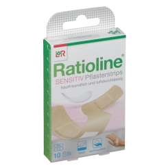 Ratioline Sensitive Pflasterstrips in 2 Grössen