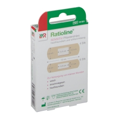 Ratioline Sensitive Pflasterstrips in 2 Grössen