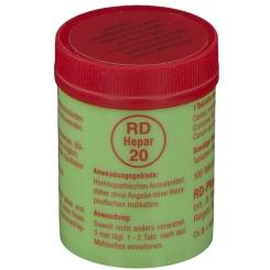 RD-Hepar 20 Tabletten