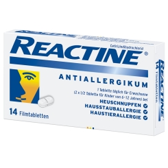 REACTINE® Tabletten