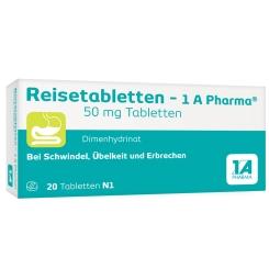 Reisetabletten - 1A Pharma®