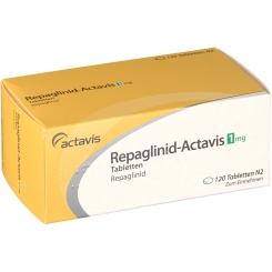 REPAGLINID Actavis 1 mg