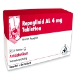 REPAGLINID AL 4 mg Tabletten