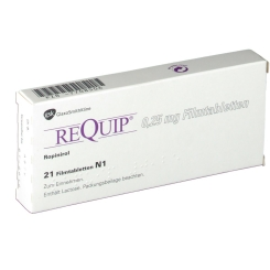 Requip 0,25 mg Filmtabl.