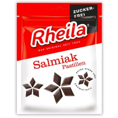 Rheila® Salmiak Pastillen Zuckerfrei
