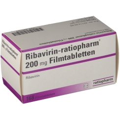 RIBAVIRIN ratiopharm 200 mg Filmtabletten