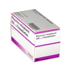 RIBAVIRIN ratiopharm 400 mg Filmtabletten