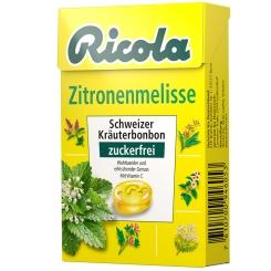 Ricola® Schweizer Kräuterbonbons Box Zitronenmelisse ohne Zucker