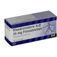 RISEDRONSÄURE AbZ 35 mg Filmtabletten