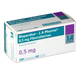 RISPERIDON 1A Pharma 0,5 mg Filmtabletten