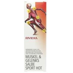 RIVIERA Muskel & Gelenkssalbe Sport Hot