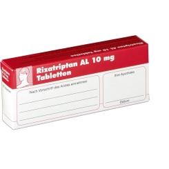 RIZATRIPTAN AL 10 mg Tabletten