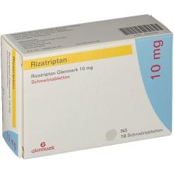 RIZATRIPTAN Glenmark 10 mg Schmelztabletten