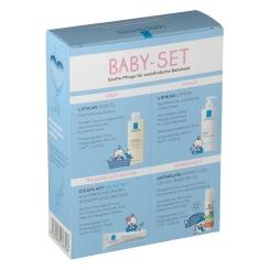 ROCHE-POSAY Lipikar Baby-Set + 100 ml LA ROCHE-POSAY Lipikar Huile Lavant AP+ GRATIS