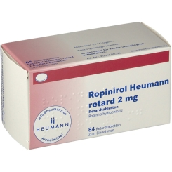 ROPINIROL Heumann retard 2 mg Retardtabletten