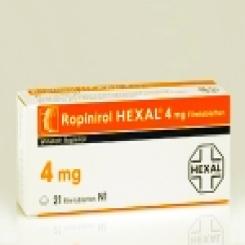 ROPINIROL HEXAL 4 mg Filmtabletten