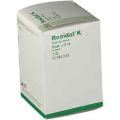 Rosidal® K mit Verbandsklammern 8 cm x 5 m
