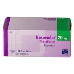 ROSUVADOR 20 mg Filmtabletten