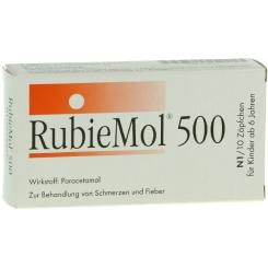 Rubiemol 500 Kindersuppos.