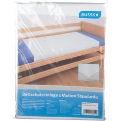 RUSSKA Bettschutzeinlage Molton Standard 100 cm x 150 cm