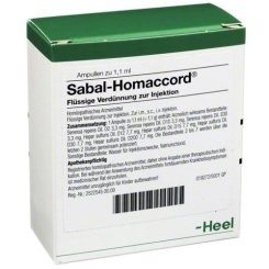 Sabal-Homaccord® Ampullen
